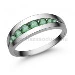 E320FS Smaragd gyűrű