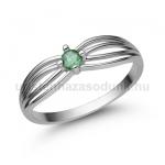 E321FS Smaragd gyűrű