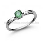 E322FS Smaragd gyűrű