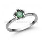 E323FS Smaragd gyűrű