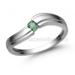 E325FS Smaragd gyűrű
