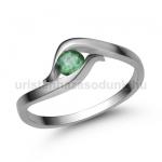 E326FS Smaragd gyűrű