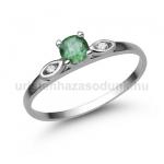 E327FS Smaragd gyűrű