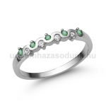 E328FS Smaragd gyűrű