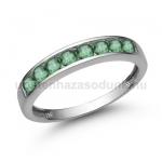 E330FS Smaragd gyűrű