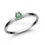 E331FS Smaragd gyűrű