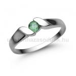 E332FS Smaragd gyűrű