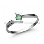 E333FS Smaragd gyűrű