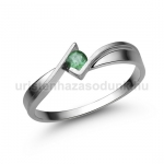 E334FS Smaragd gyűrű