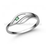 E335FS Smaragd gyűrű