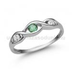 E336FS Smaragd gyűrű