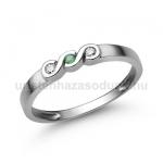 E338FS Smaragd gyűrű