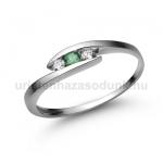 E339FS Smaragd gyűrű