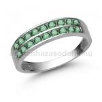 E342FS Smaragd gyűrű