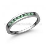 E344FS Smaragd gyűrű