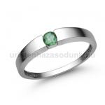 E345FS Smaragd gyűrű