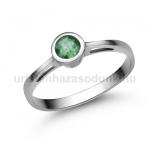 E346FS Smaragd gyűrű