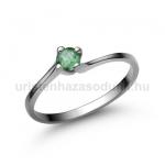 E34FS Smaragd gyűrű