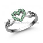 E351S Smaragd gyűrű