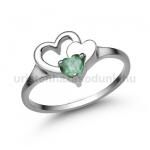 E353FS Smaragd gyűrű