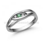 E354FS Smaragd gyűrű