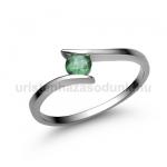 E3FS Smaragd gyűrű