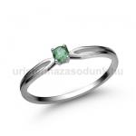 E8FS Smaragd gyűrű