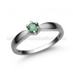 E9FS Smaragd gyűrű