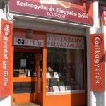 Karikagyűrű bolt