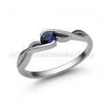 E104FZK Zafír gyűrű