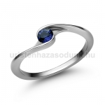 E106FZK Zafír gyűrű