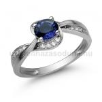 E108FZK Zafír gyűrű