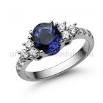 E117FZK Zafír gyűrű