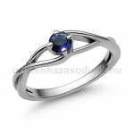 E120FZK Zafír gyűrű