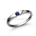E12FZK Zafír gyűrű