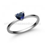 E15FZK Zafír gyűrű
