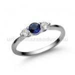 E16FZK Zafír gyűrű