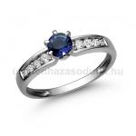 E17FZK Zafír gyűrű