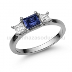 E201FZK Zafír gyűrű