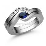 E204FZK Zafír gyűrű