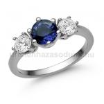 E205FZK Zafír gyűrű