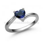 E207FZK Zafír gyűrű