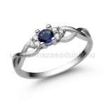 E301FZK Zafír gyűrű