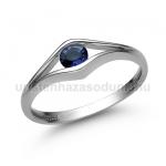 E302FZK Zafír gyűrű