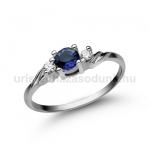 E304FZK Zafír gyűrű