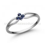E305FZK Zafír gyűrű