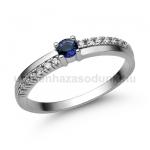 E311FZK Zafír gyűrű