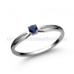 E8FZK Zafír gyűrű